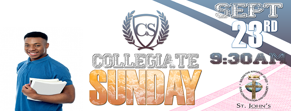 Collegiate Sunday 2018